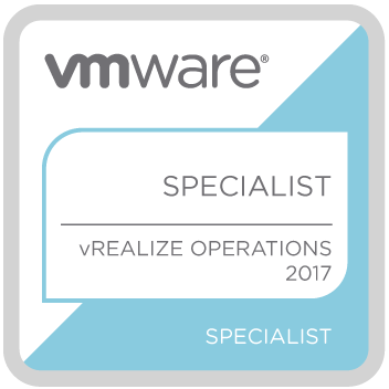 VMWARE Specialist vRealize Operation 2017